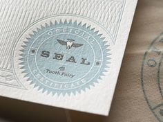 Graphic Design, Packaging Design and Home Desgin Blog by New York Designer: Tooth Fairy Kit