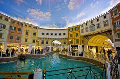 Villaggio Mall, Qatar. Villaggio Mall is a shopping mall located in the Aspire Zone in the west end of Doha, the capital city of Qatar.