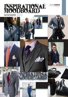 Another inspirational mood board for men in check&stripes style...enjoy it! @MyRetailCoach