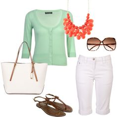 Seafoam in Spring, created by houseunseen on Polyvore
