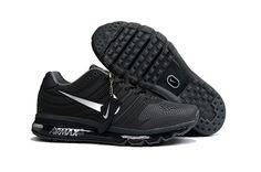 Nike Air Max 2017 Men Black Silver KPU Shoes