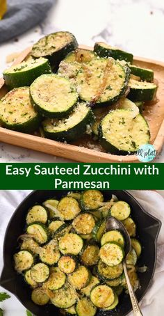 Easy Sautéed Zucchini with Onions and Parmesan. Golden delicious zucchini and squash cooked with butter garlic and your favorite seasonings. Healthy and simple it's the perfect summer side dish! Sauteed Zucchini Recipes, Zucchini Side Dishes, Healthy Side Dishes, Vegetable Side Dishes, Side Dish Recipes, Veggie Recipes, Vegetarian Recipes, Cooking Recipes, Healthy Eating Recipes