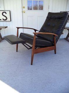 Milo Baughman Thayer Coggin Recliner Lounge Chair | First Dibs