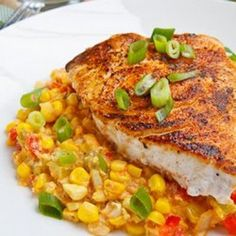 Blackened Swordfish: maybe this fish market in DC will have this?