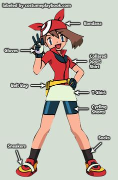 May Pokemon Costume