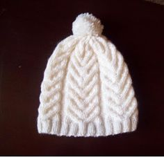 Curso de tejido a mano: Fantasía en trenza espiga Owl Hat, Knitting Stitches, Hair Band, Knitted Hats, Crafts For Kids, Etsy Seller, Beanie, Creative, How To Make