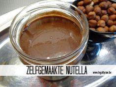 Zelfgemaakte Nutella