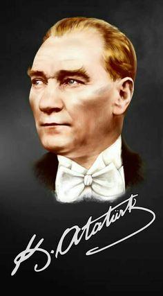 Atatürk2 World Peace, Nostalgia, Mandala, Hair Beauty, Ocean, Eyes, History, Drawings, Movie Posters