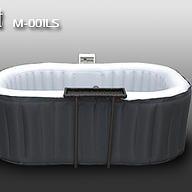Inflatable hot tubs shop / Portable Jacuzzi / Mspa / Intex / Lay Z Spa Spa Tub, Bathtub, Hot Tub Deck, Side Bar, Portable Spa, Ways To Relax, Hot Tubs, Jacuzzi, Oval Shape