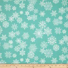 Where's Rudolph? Snowflake Dark Aqua $4.95/y