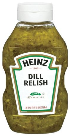Heinz Dill Relish, 26 Ounce Convenient upside down bottle with no mess cap Classic dill pickle relish that adds the perfect blend of tanginess to your favorite food Gluten free, certified Kosher Product of the USA How To Make Homemade, Food To Make, Dill Pickle Relish, Southern Deviled Eggs, How To Make Pickles, Relish Recipes, Vegan Recipes, Homemade Pickles, Pickling Cucumbers