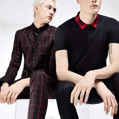 Checks and balances: the new #hugo Menswear