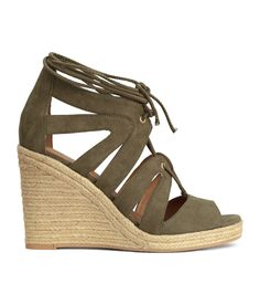 Wedge-heeled sandals | H&M Shoes