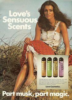 Part musk, part magic Loves Sensuous Scents 1975
