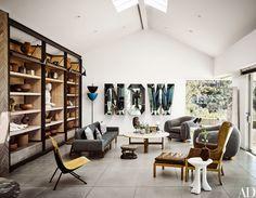 Ryan Murphy's Brilliant Beach House Photos | Architectural Digest