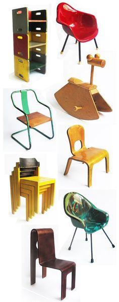 xhibition of children's furniture: Kids Chairs!