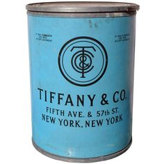 1920's Tiffany Original Shipping Barrel. Would be so cool as a side table