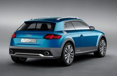 AUDI allroad shooting brake e-tron quattro concept at NAIAS