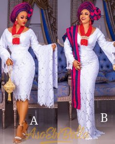 78 Edition Of - Aso Ebi Lace And African Print Outfits To Look Super Trendy Nigerian Lace Styles, Aso Ebi Lace Styles, Latest Aso Ebi Styles, Ankara Styles, Cord Lace Styles, Lace Dress Styles, Lace Dresses, African Fashion Designers, Latest African Fashion Dresses