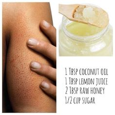 Coconut Oil and Honey Scrub To Treat Skin Redness - 7 Effective and Simple DIY Red Skin Remedies