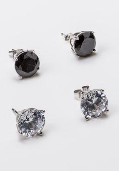 2-Carat Stud Earrings