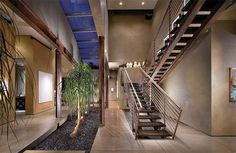 hallway plants