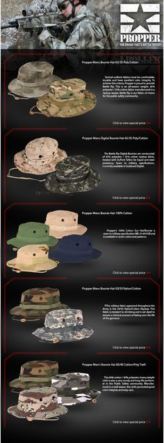 The Brand Thats Battle Tested - Propper Boonies On Sale! - Real Time - Diet, Exercise, Fitness, Finance You for Healthy articles ideas Military Tactics, Military Gear, Tactical Equipment, Tactical Gear, Tac Gear, Camo Outfits, Tactical Clothing, Special Ops, Survival Mode