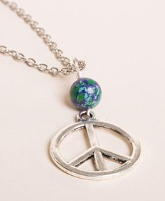 NEW! World Peace Necklace