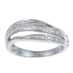 This ring is beautiful and feminine. I adore the lustrous diamonds and really enjoy how comfortable and well-fitting it is. I LOVE this ring!