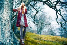 Over the Hills and Far Away - Kirsty Hume by Erik Madigan Heck for Harper's Bazaar UK September 2015 - MaxMara