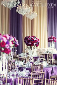 WedLuxe– Marisa  Fabio | Photography by: Renaissance Studios Follow @WedLuxe for more wedding inspiration!