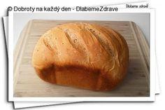 Recept Lehký žitný chlebík s kmínem - Naše Dobroty na každý den Program, Banana Bread, Desserts, Food, Tailgate Desserts, Deserts, Essen, Postres, Meals