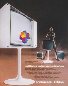 Continental Edison TV 1972
