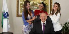 """Tucano """"ostentação"""": Presidente da Assembleia Legislativa do Paraná exibe suas assessoras na rede"""