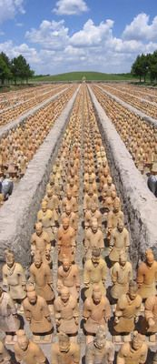 Forbidden Gardens | Atlas Obscura | Scale replica of China's ancient terracotta tomb warriors and Forbidden City are the side project of an eccentric millionaire