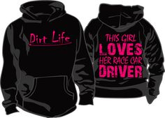 Racing season is here and the new DIRT LIFE shirts are ready to ship.  See them all at our Etsy shop https://www.etsy.com/listing/269458386/dirt-life-this-girl-loves-her-race-car