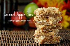Gourmet Caramel Apple Recipes   ... of a caramel apple addiction lately and this caramel apple bars recipe