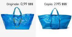 L'esilarante risposta IKEA alla Borsa/Copia da 2.450 $$$ di Balenciaga