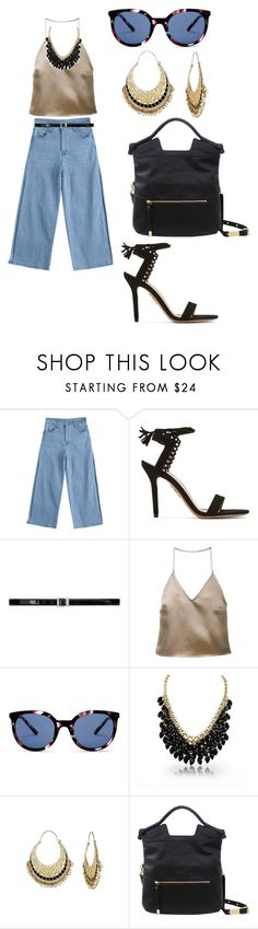 """Trendy"" by jalepe ❤ liked on Polyvore featuring Charlotte Olympia, Yves Saint Laurent, Barbara Casasola, Kenzo, Adoriana, Isharya and Foley + Corinna"