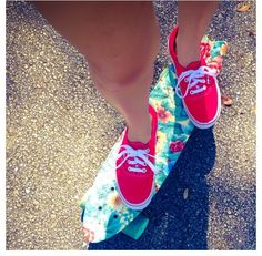Love the floral Penny board