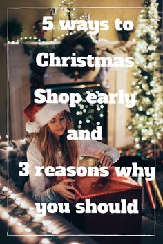 Holiday shopping can be stressful, so with this article, you'll learn some tips to start your shopping early and have a more enjoyable holiday!
