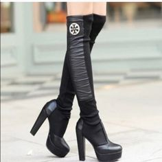 Tory Faux Leather Leg WarmerDisc Ship Avail Winter Leg warmers. Cute & chick. Own one myself and these are definitely great. I.N.S.P.I.R.E.D. New in package.                                 Serious buyers can ask for discount shipping One size fits all!s all! Tory Burch Accessories Hosiery & Socks