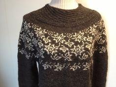Etter å ha kontaktet Dale Garn har jeg fått lov til å dele oppskriften på denne flotte genseren;                   Min genser er ganske godt...