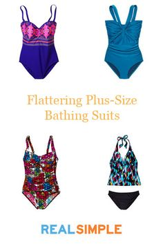Find the most flattering plus-size bathing suits for the pool or beach this summer. (Click through to see all 12 of our favorites!)