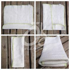 Les inserts de chanvre Öko: Une solution durable et versatile pour les couches lavables! - Öko Créations. Facon de plier les inserts chanvre
