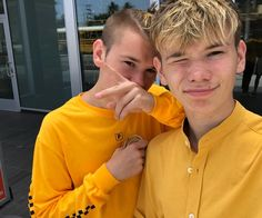 Just landed in Norway, and now we're ready for the concert tomorrow in Halden! Who else is ready? Twin Boys, My Boys, Twin Brothers, Pretty Boys, Cute Boys, Beautiful Person, Beautiful People, Love Twins, Bars And Melody
