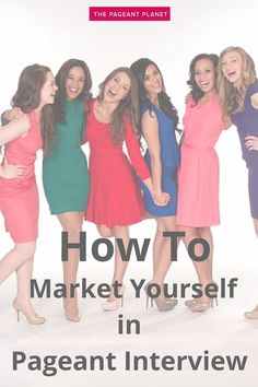 Marketing yourself in pageant interview means selling your pageant brand to the judges. Marketing your pageant brand successfully will give you skills applicable in many areas of your life and career, and will ultimately show the judges why you are clearly fit for the crown. Read more on 3 Steps for How to Market Yourself in Pageant Interview.