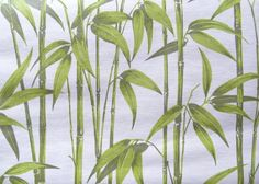 vintage wallpaper  bamboo  per  yard by thriftypyg on Etsy