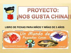 Fichas proyecto China Educacion Intercultural, Primary Education, Preschool, Marco Polo, Madrid, Spanish, Science, 3 Years, Geography
