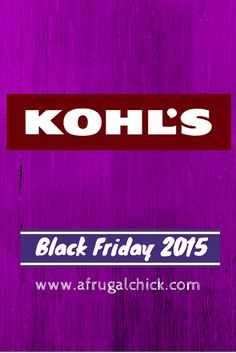 Don't want to miss any deals?  Join the A Frugal Chick Black Friday and Cyber Monday Facebook Room! Check out the last five holiday deals posted: The 64-page Black Friday 2015 ad for Kohl's doesn't disappoint (but, then again, it never does)! With great deals and the ability to earn $15 Kohl's Cash for every …